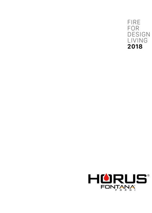 Portada del catálogo de hornos Horus Fontana 2018