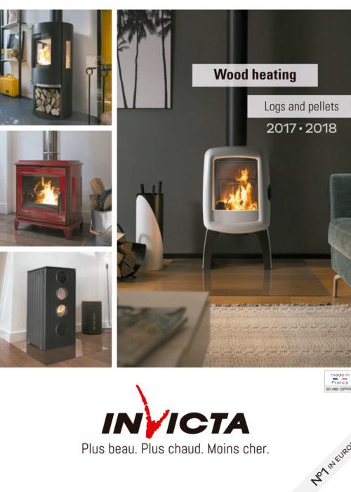 Portada del catálogo de estufas | Invicta 2017-2018