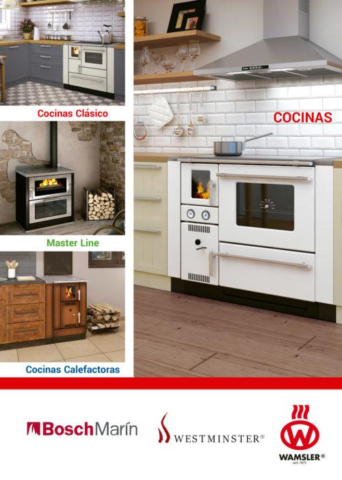 Portada del catálogo de Cocinas Calefactoras | Wamsler 2018