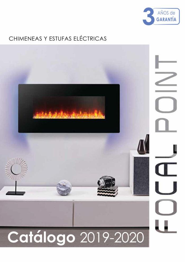 Focalpoint chimeneas y estufas eléctricas - catálogo 2019/2020